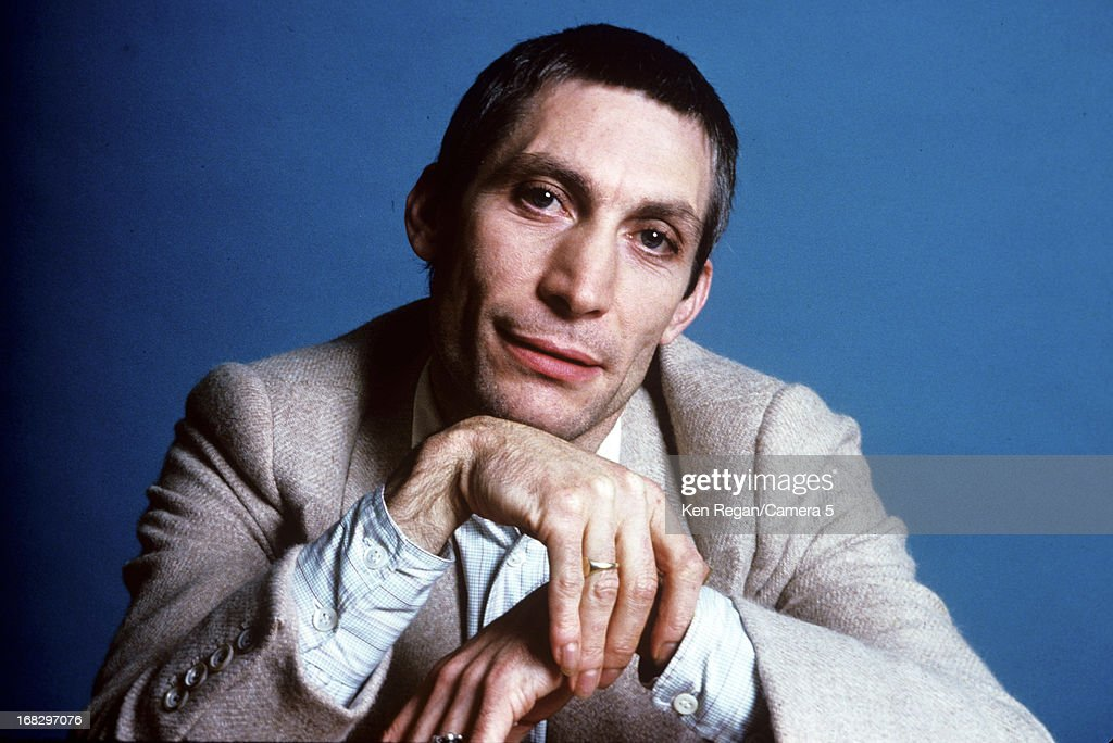 <a gi-track='captionPersonalityLinkClicked' href=/galleries/search?phrase=Charlie+Watts&family=editorial&specificpeople=213325 ng-click='$event.stopPropagation()'>Charlie Watts</a> of the <a gi-track='captionPersonalityLinkClicked' href=/galleries/search?phrase=Rolling+Stones&family=editorial&specificpeople=85170 ng-click='$event.stopPropagation()'>Rolling Stones</a> is photographed at the Camera 5 studios in 1977 in New York City.