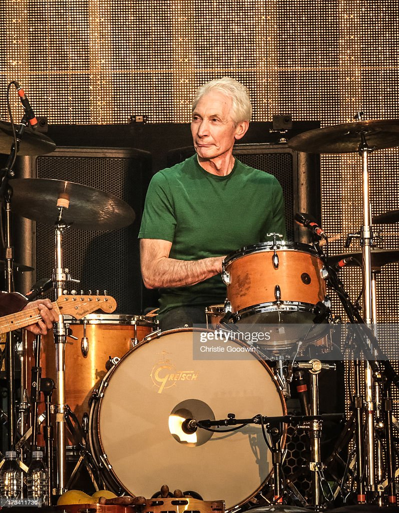 <a gi-track='captionPersonalityLinkClicked' href=/galleries/search?phrase=Charlie+Watts&family=editorial&specificpeople=213325 ng-click='$event.stopPropagation()'>Charlie Watts</a> of The Rolling Stones performs on stage at British Summer Time Festival at Hyde Park on July 13, 2013 in London, England.