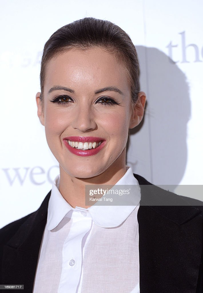Charlie Webster attends a special screening of 'The Big Wedding' at May Fair Hotel on May 23, 2013 in London, England.