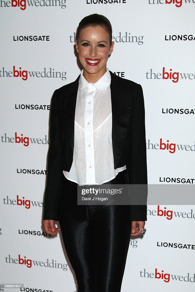Charlie Webster attends a special screening of 'The Big Wedding' at The Mayfair Hotel on May 23, 2013 in London, England.