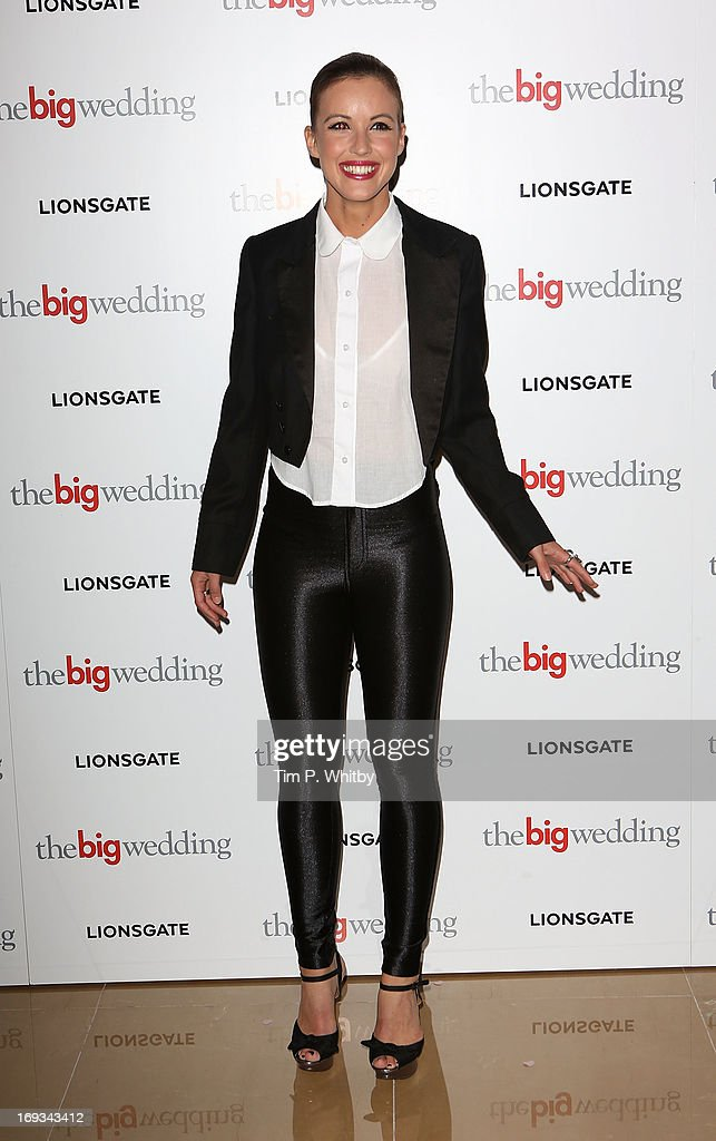 Charlie Webster attends Special screening of 'The Big Wedding' at May Fair Hotel on May 23, 2013 in London, England.