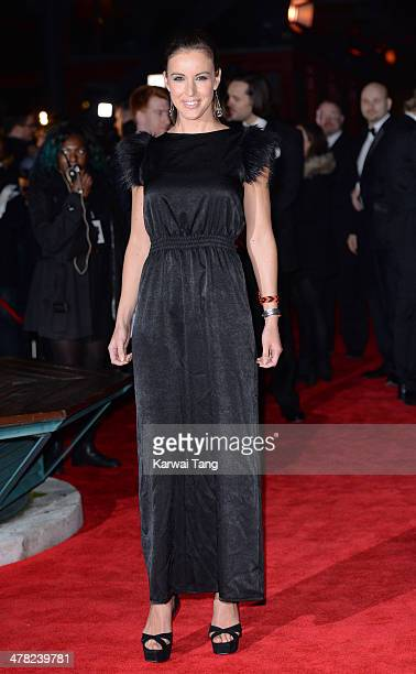 Charlie Webster attends the 2014 British Academy Games Awards at Tobacco Dock on March 12 2014 in London England