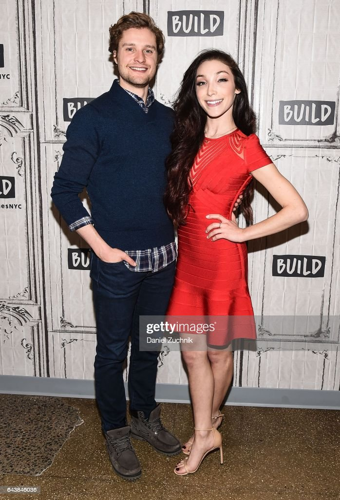 """Build Series Presents Meryl Davis and Charlie White Discussing """"Stars on Ice"""""""
