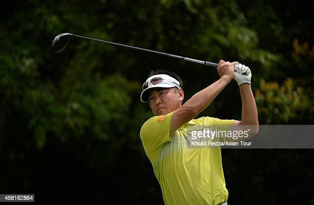 Charlie Wi of Korea in action during day two of the 2014 CIMB Classic at Kuala Lumpur Golf Country Club on October 31 2014 in Kuala Lumpur Malaysia