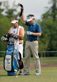 Charlie Wi tees off on the 3rd during the Final Round of the Zurich Classic of New Orleans at TPC Louisiana on April 27 2014 in Avondale Louisiana