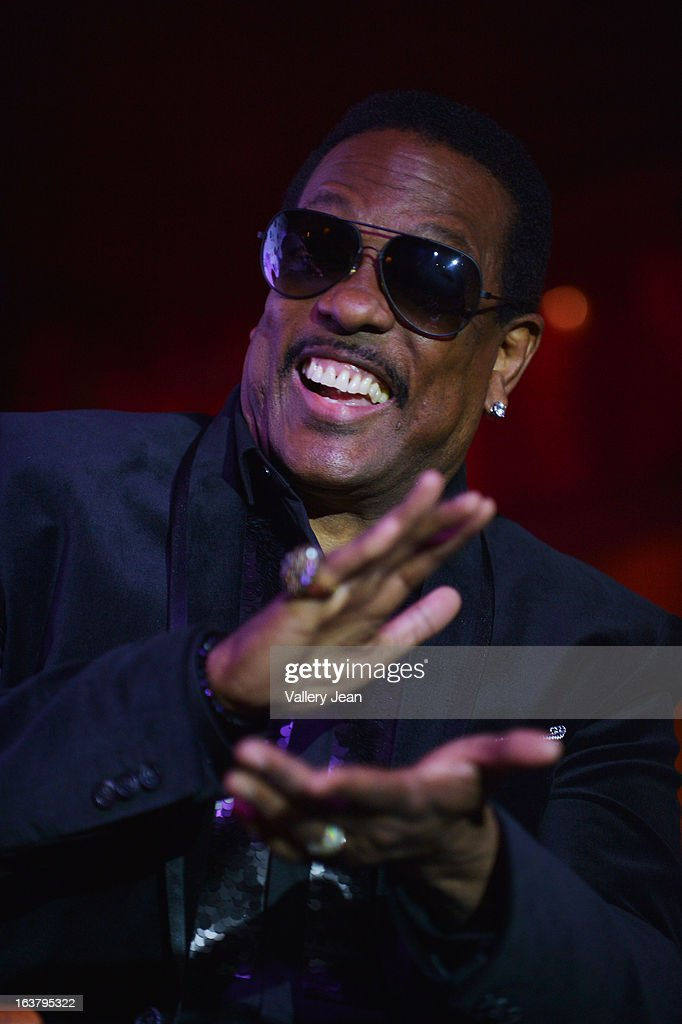 Charlie Wilson attends the 8th Annual Jazz in the Gardens Press Conference at Seminole Hard Rock Hotel & Casino ? Hard Rock Cafe Hollywood on March 15, 2013 in Hollywood, Florida.