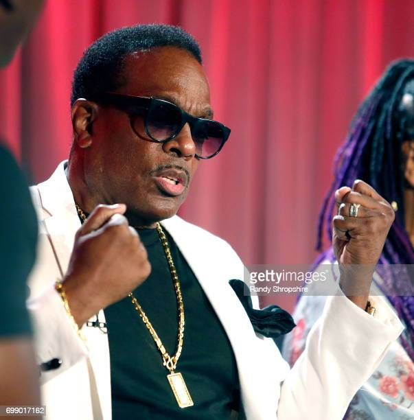 Charlie Wilson attends the Health in Hip Hop panel at the GRAMMY Museum on June 20 2017 in Los Angeles California