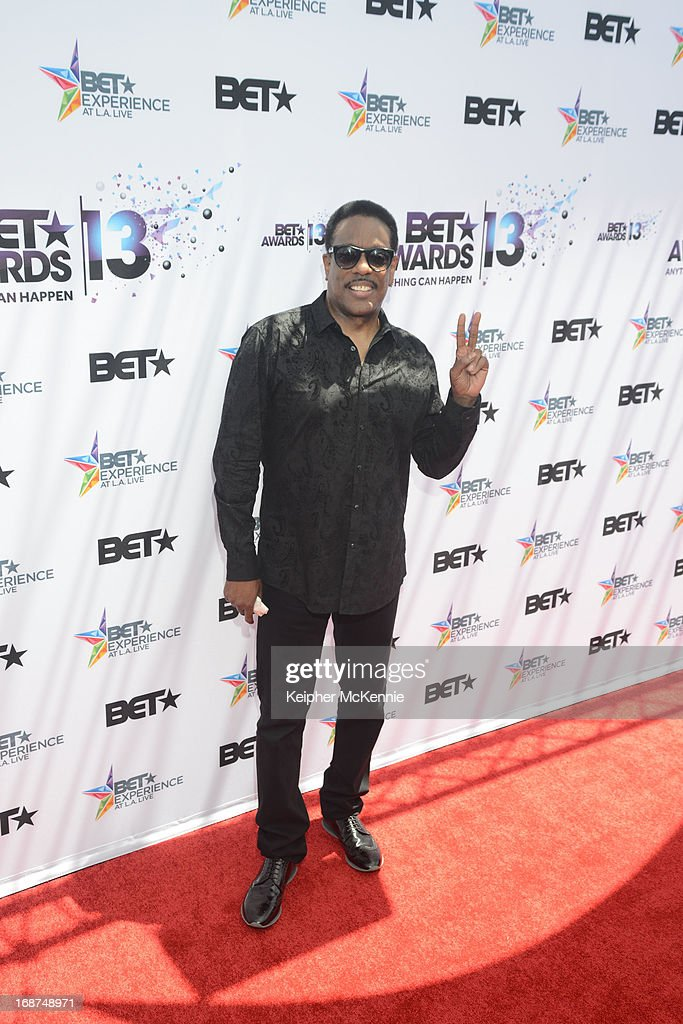 Charlie Wilson on the red carpet at the 2013 BET Awards press conference at Icon Ultra Lounge on May 14, 2013 in Los Angeles, California.