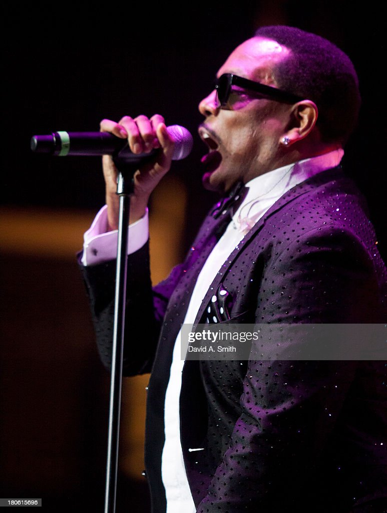 Charlie Wilson performs at BBVA Compass Concert For Human Rights Hosted By Jamie Foxx at The Birmingham Jefferson Convention Center on September 14, 2013 in Birmingham, Alabama.