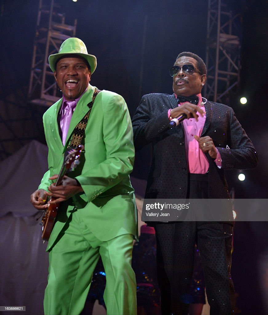 Charlie Wilson performs at Miami Gardens 8th Annual Jazz In The Gardens Music Festival - Day 1 at Sun Life Stadium on March 16, 2013 in Miami Gardens, Florida.