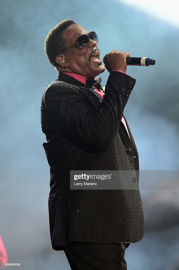 Charlie Wilson performs at the 8th Annual Jazz In The Gardens Day 1 at Sun Life Stadium presented by the City of Miami Gardens on March 16, 2013 in Miami Gardens, Florida.