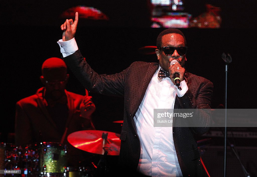 Charlie Wilson performs during the BBVA Compass Concert for Human Rights hosted by Jamie Foxx at the Birmingham Jefferson Convention Center on September 14, 2013 in Birmingham, Alabama.