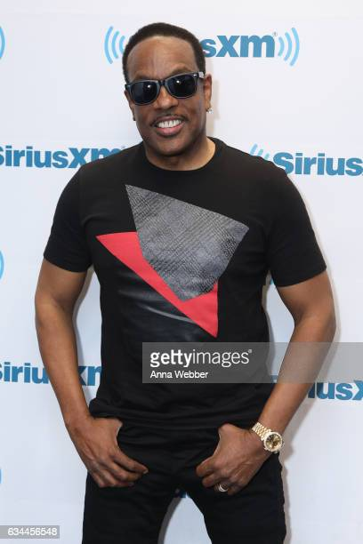 Charlie Wilson visits SiriusXM during Charlie Wilson Performs Live On SiriusXM Performance To Air On SiriusXM's Heart Soul Channel at SiriusXM...