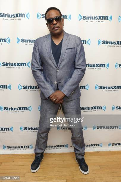 Charlie Wilson visits SiriusXM Studios on September 11 2013 in New York City