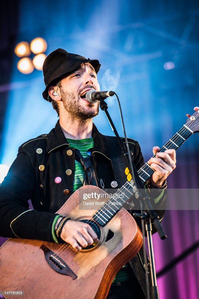 Charlie Winston performs at Eurockeennes Music Festival on July 1, 2012 in Belfort, France.