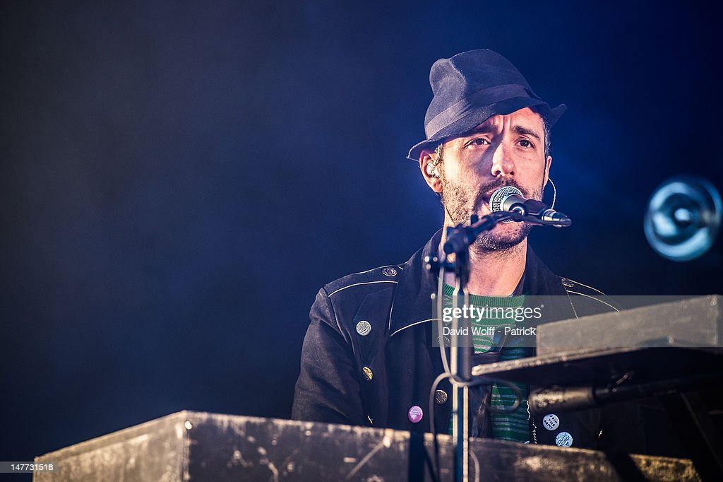 Charlie Winston performs at Eurockeennes Music Festival on July 1, 2012 in Belfort, France.