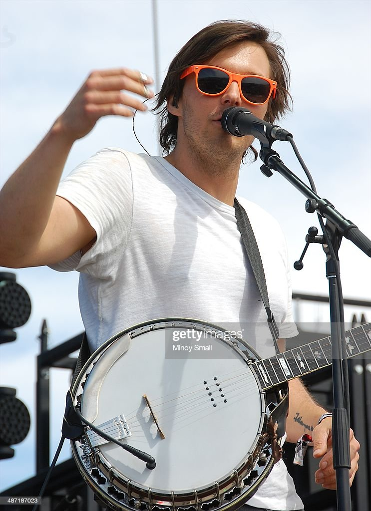 Charlie Worsham performs at the 2014 Stagecoach California's Country Music Festival at The Empire Polo Club on April 27, 2014 in Indio, California.