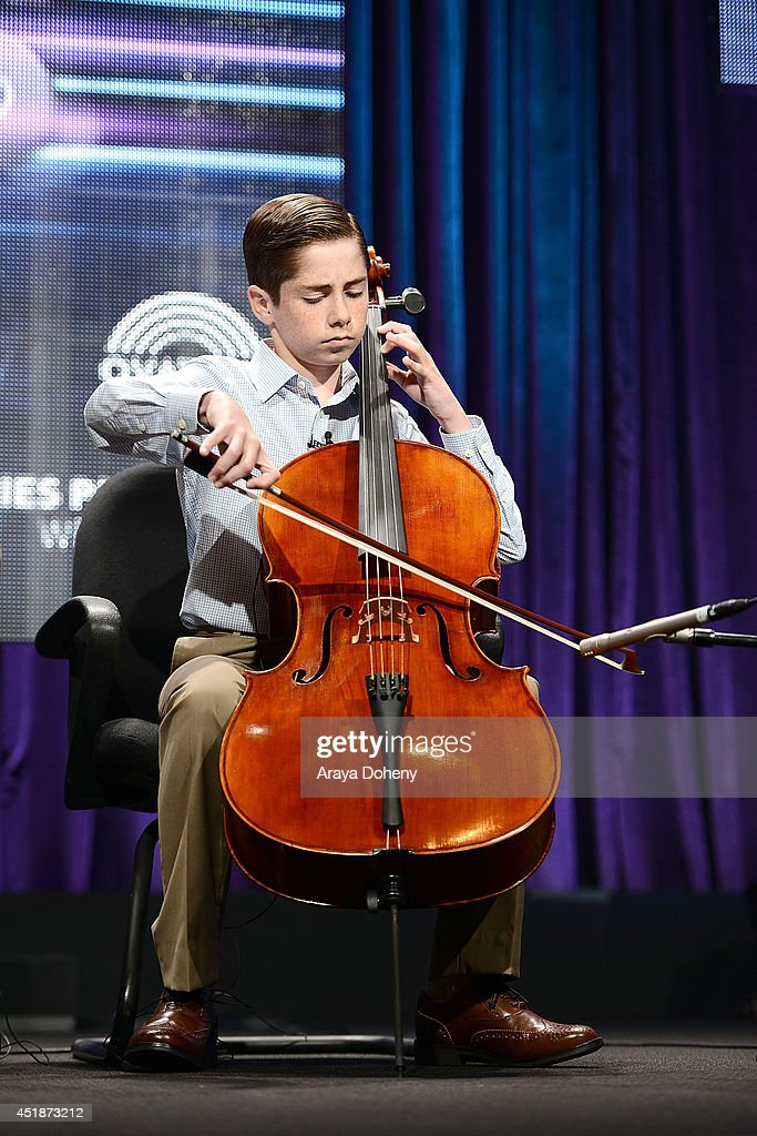 Charlie Zandieh performs onstage for the Ovation TV's 'Young Marvels' panel of the 2014 Summer Television Critics Association at The Beverly Hilton Hotel on July 8, 2014 in Beverly Hills, California.