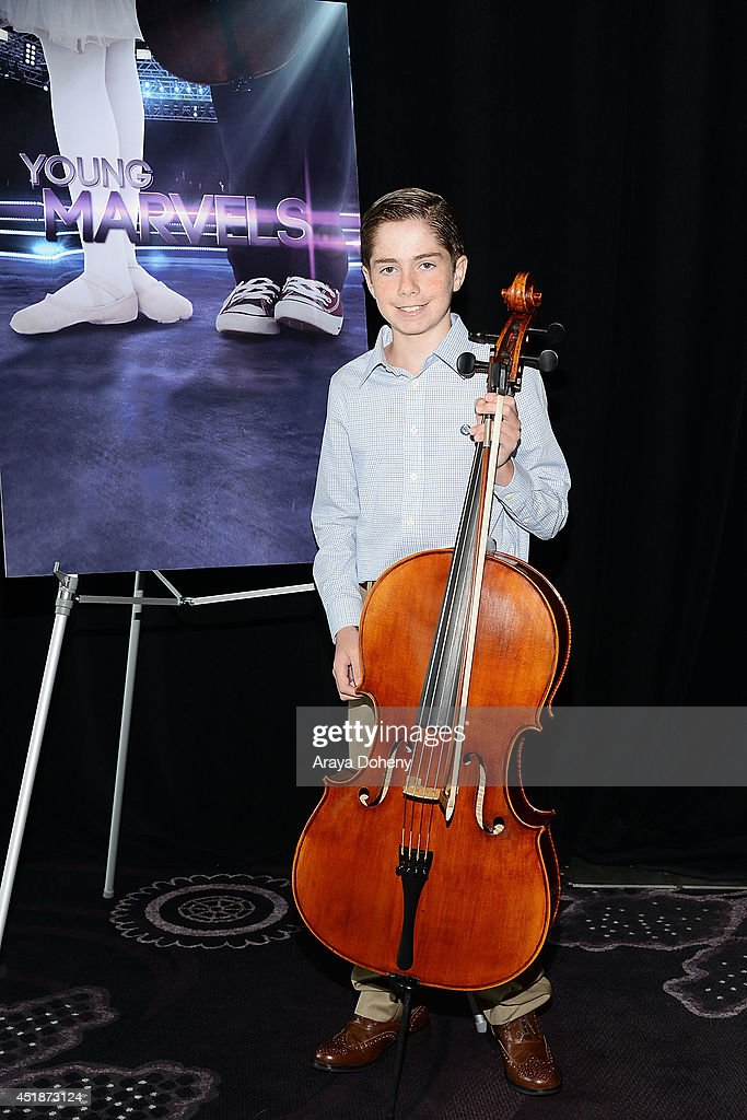 Charlie Zandieh poses backstage for the Ovation TV's 'Young Marvels' panel of the 2014 Summer Television Critics Association at The Beverly Hilton Hotel on July 8, 2014 in Beverly Hills, California.