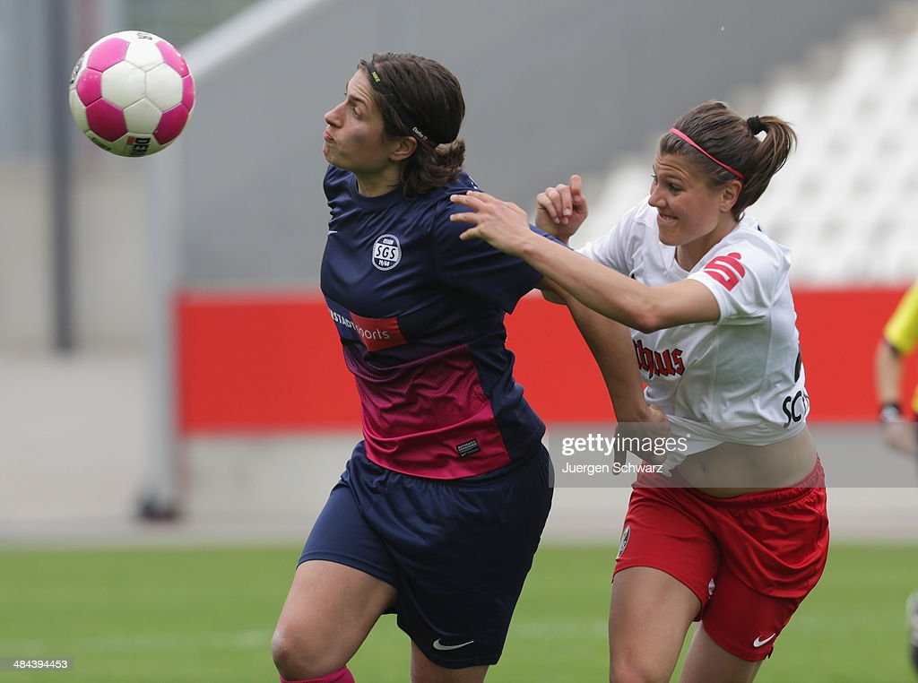 sgs essen v sc freiburg women 39 s dfb cup semi final getty images. Black Bedroom Furniture Sets. Home Design Ideas