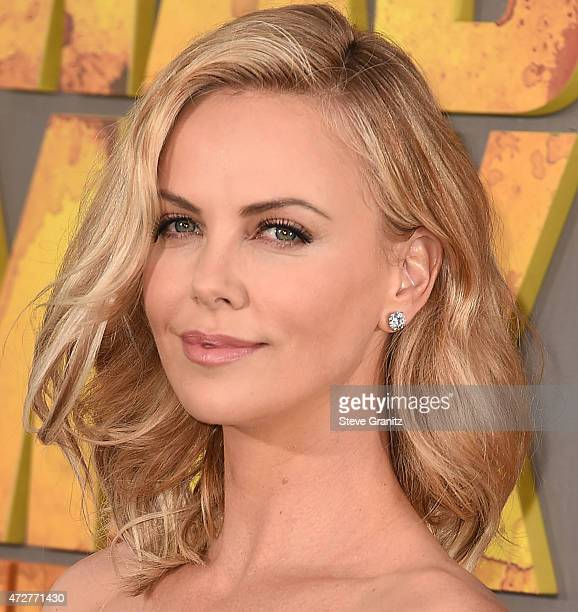 Charlize Theron arrives at the 'Mad Max Fury Road' Los Angeles Premiere at TCL Chinese Theatre IMAX on May 7 2015 in Hollywood California