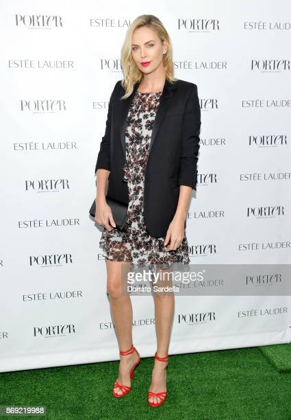 Charlize Theron at PORTER Hosts Incredible Women Gala In Association With Estee Lauder at NeueHouse Los Angeles on November 1 2017 in Hollywood...