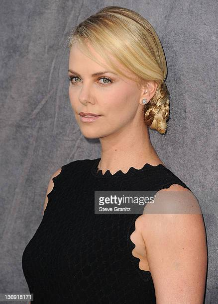 Charlize Theron attends the 17th Annual Critics Choice Movie Awards at Hollywood Palladium on January 12 2012 in Hollywood California