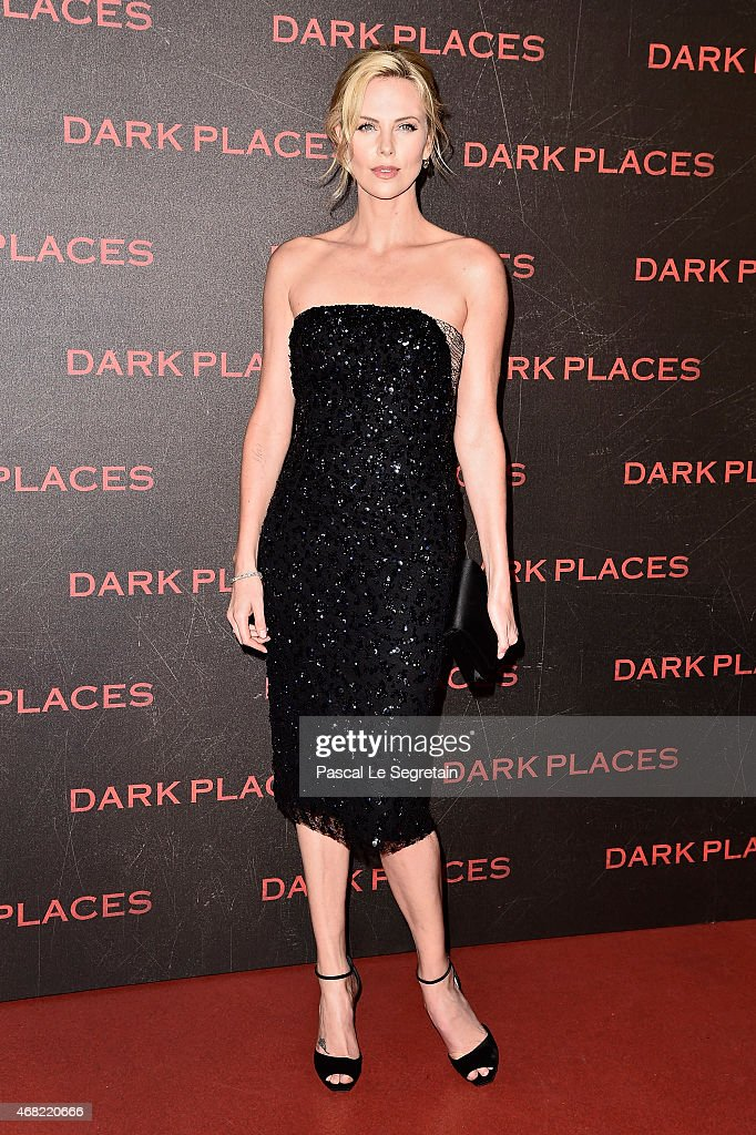<a gi-track='captionPersonalityLinkClicked' href=/galleries/search?phrase=Charlize+Theron&family=editorial&specificpeople=171250 ng-click='$event.stopPropagation()'>Charlize Theron</a> attends the 'Dark Places' Paris Premiere at Cinema Gaumont Capucine on March 31, 2015 in Paris, France.