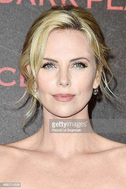 Charlize Theron attends the 'Dark Places' Paris Premiere at Cinema Gaumont Capucine on March 31 2015 in Paris France