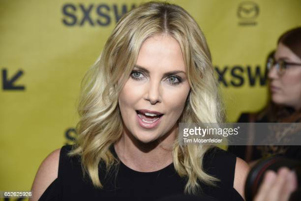 Charlize Theron attends the Film premiere of 'Atomic Blonde' during the 2017 SXSW Conference And Festivals at the Paramount Theater on March 12 2017...