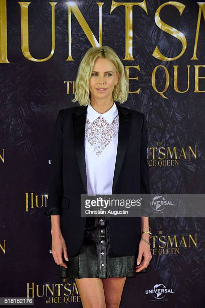 Charlize Theron attends 'The Huntsman The Ice Queen' Photocall at Park Hyatt Hamburg on March 30 2016 in Hamburg Germany