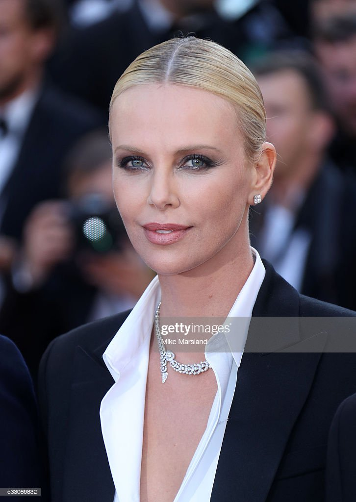 Charlize Theron attends the screening of 'The Last Face' at the annual 69th Cannes Film Festival at Palais des Festivals on May 20, 2016 in Cannes, France.