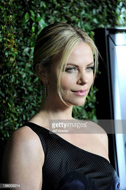 Charlize Theron attendsthe Los Angeles Premiere of 'Young Adult' at AMPAS Samuel Goldwyn Theater on December 15 2011 in Beverly Hills California