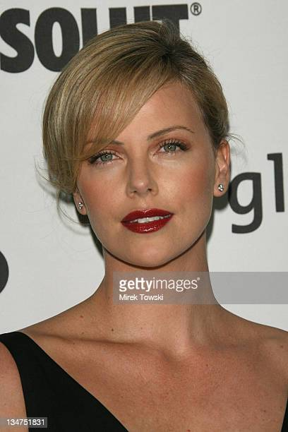 Charlize Theron during 17th Annual GLAAD Media Awards at Kodak Theatre in Hollywood California United States