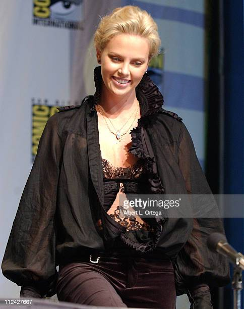 Charlize Theron during 36th Annual ComicCon International Day Three at San Diego Convention Center in San Diego California United States