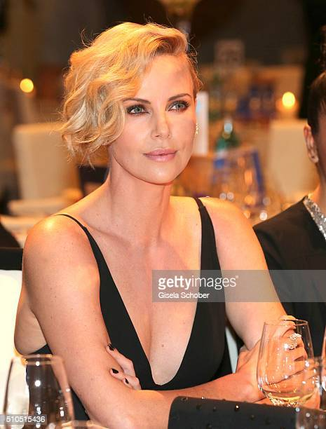 Charlize Theron during the Cinema For Peace Gala 2016 during the 66th Berlinale International Film Festival on February 15 2016 in Berlin Germany