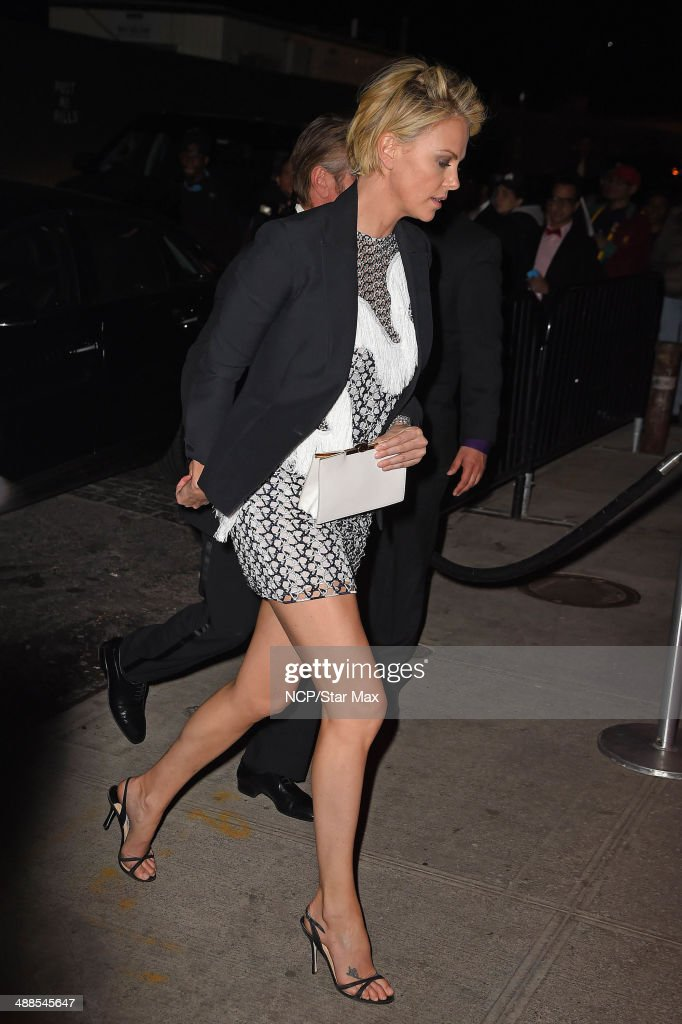 <a gi-track='captionPersonalityLinkClicked' href=/galleries/search?phrase=Charlize+Theron&family=editorial&specificpeople=171250 ng-click='$event.stopPropagation()'>Charlize Theron</a> is seen at the after-party for The Costume Institute Benefit Gala on May 5, 2014 in New York City.