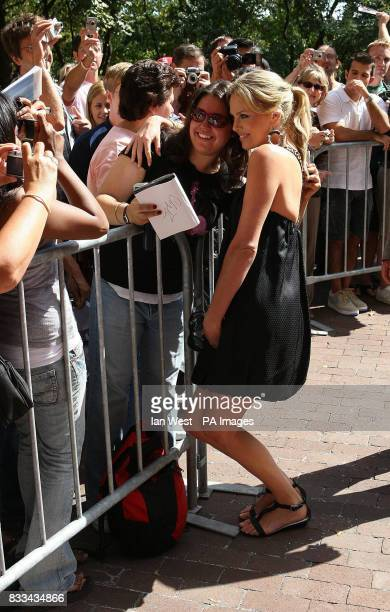 Charlize Theron is seen at the premiere of Battle in Seattle part of the Toronto Film Festival at the Ryerson Theatre in Toronto Canada