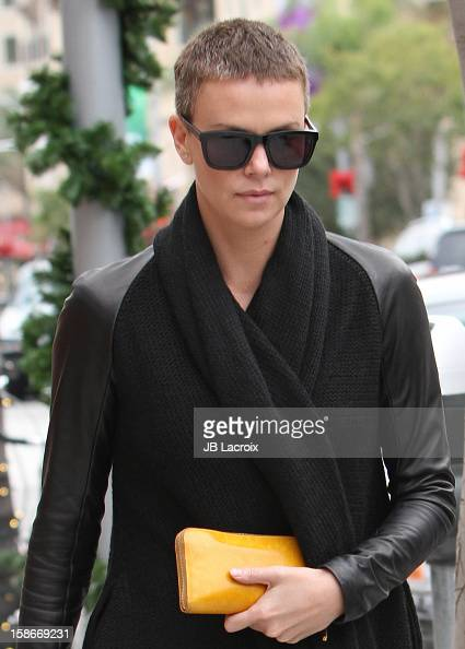 Charlize Theron is seen on December 23 2012 in Los Angeles California