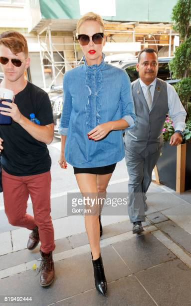 Charlize Theron on July 20 2017 in New York City
