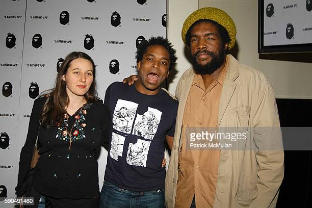 Charlotta Douglas Captain Kirk Douglas and Quest Love attend After Party for Nigo's 'A Bathing Ape' Store Opening at The Canal Room on January 11...