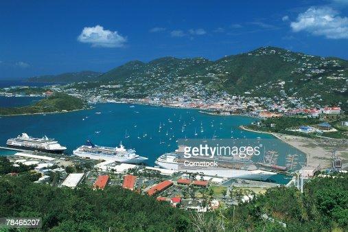 Charlotte Amalie Harbor , St. Thomas , Virgin Islands