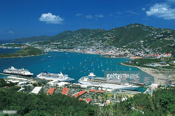 Charlotte Amalie Harbor , St. Thomas , Virgin Islands