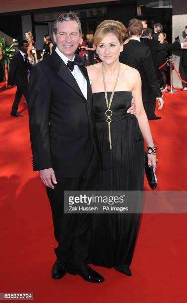 Charlotte Bellamy and John Middleton arriving for the British Academy Television Awards at the Royal Festival Hall in central London