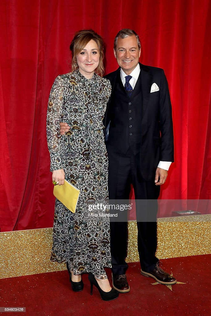 Charlotte Bellamy and John Middleton attend the British Soap Awards 2016 at Hackney Empire on May 28, 2016 in London, England.