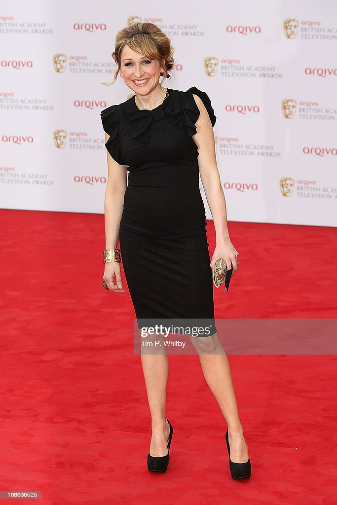 Charlotte Bellamy attends the Arqiva British Academy Television Awards 2013 at the Royal Festival Hall on May 12, 2013 in London, England.