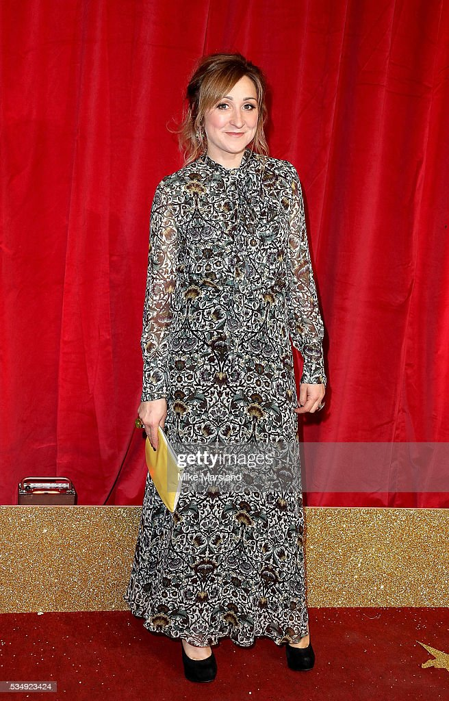 Charlotte Bellamy attends the British Soap Awards 2016 at Hackney Empire on May 28, 2016 in London, England.