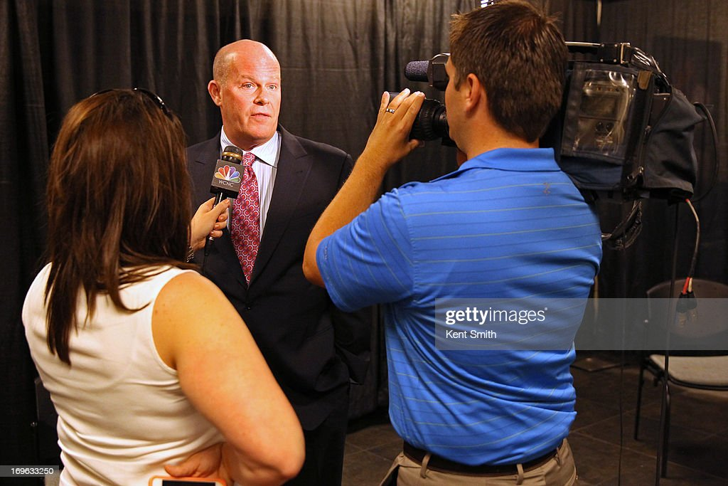 Charlotte Bobcats announce today that Steve Clifford is the new head coach for the team at the Time Warner Cable Arena on May 29, 2013 in Charlotte, North Carolina.