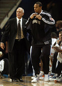 Charlotte Bobcats head coach Larry Brown sends guard Shannon Brown into the game against the Denver Nuggets during the first half The Nuggets...