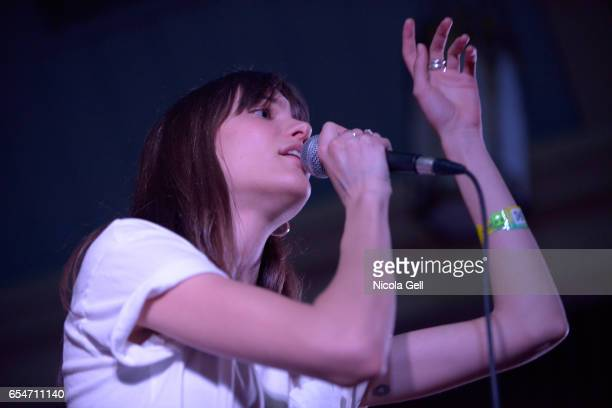 Charlotte Cardin performs onstage at the Communion music showcase during 2017 SXSW Conference and Festivals at St David's Historic Sanctuary on March...